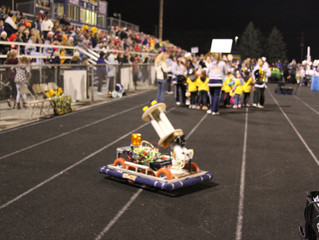 CannonBot at the Football Game