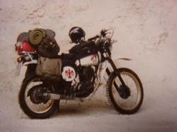XT500 im Urlaubstrimm
