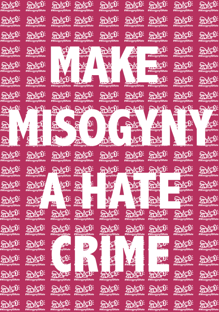 Misogyny IS Hate Poster