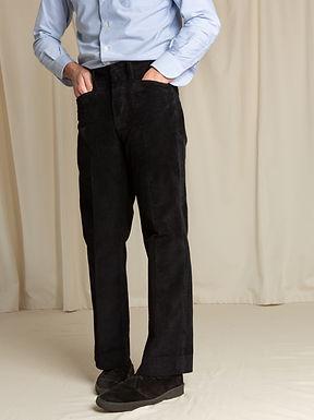 Black Corduroy Trouser