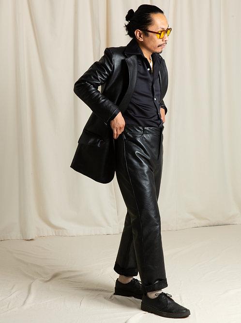 Black Horse Single Breasted Jacket