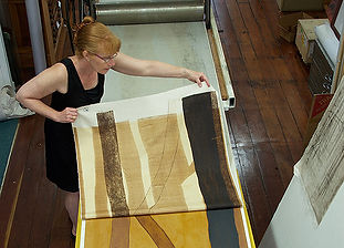 Printing-Long-Hee-Lee-Artist,-Sue-Cooke-