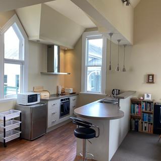 Artist flat: kitchen