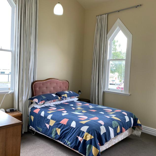 Artist flat: bedroom