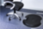 System 5000 S2S - Sit to Stand Working - Adjustable Height Desk Mat and Chair Mat - Carpet option