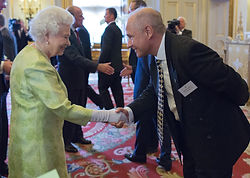 Steve Bull Chairman of Floortex receives Queens Award for Enterprise