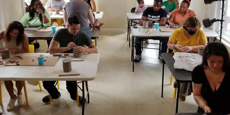 CLAY HANDBUILDING CLASS!  sept 4th  3PM