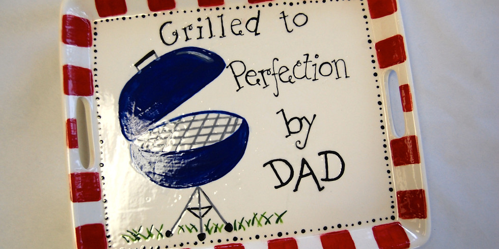 Youth Father's Day Grill Plate Workshop