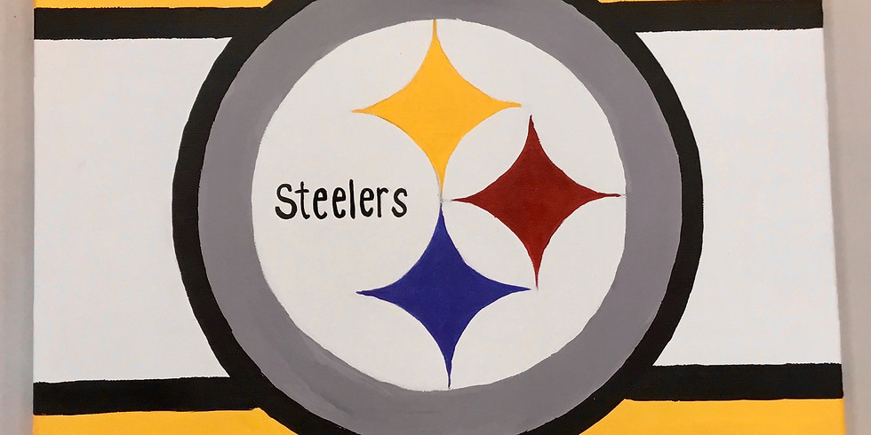 Youth Steelers Canvas Painting Night