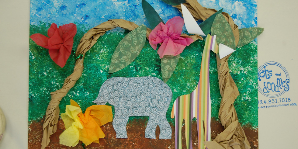 Let's Get Wild: Art Safari Camp (Ages 5-9)
