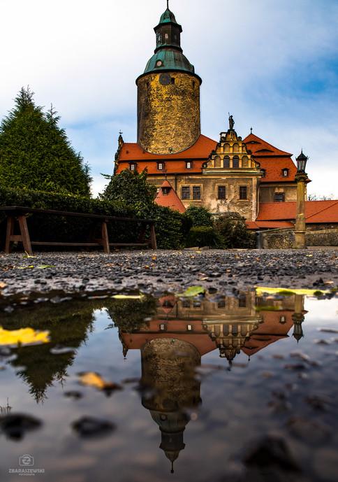 Zamek Czocha - odbicie