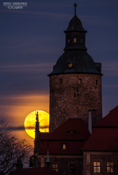 Zamek Czocha Superksiężyc