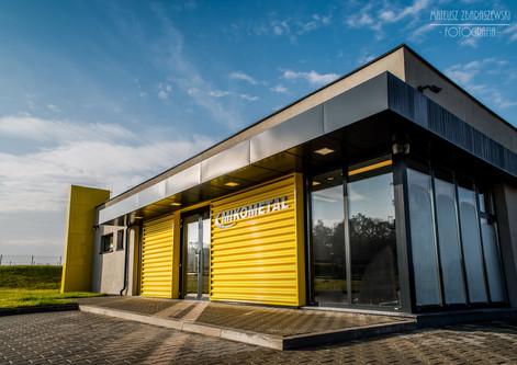 Zakład produkcyjny firmy MIKOMETAL zaprojektowany i wybudowany przez RUKA projekt sp. z o.o.