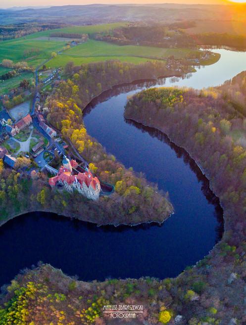 Zamek Czocha wiosna