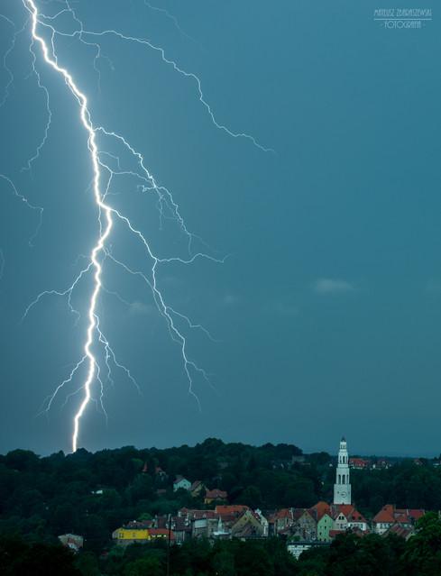 Gryfów Śląski burza