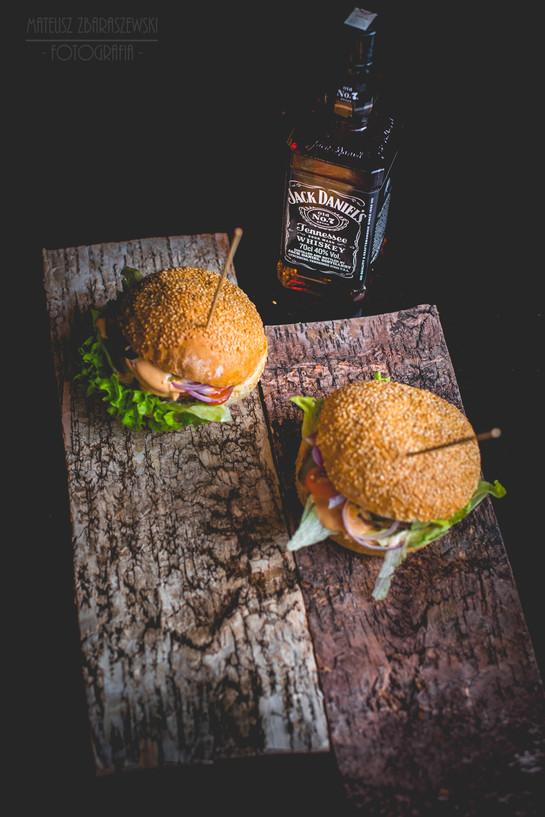 Burgery w towarzystwie Jack Daniel's