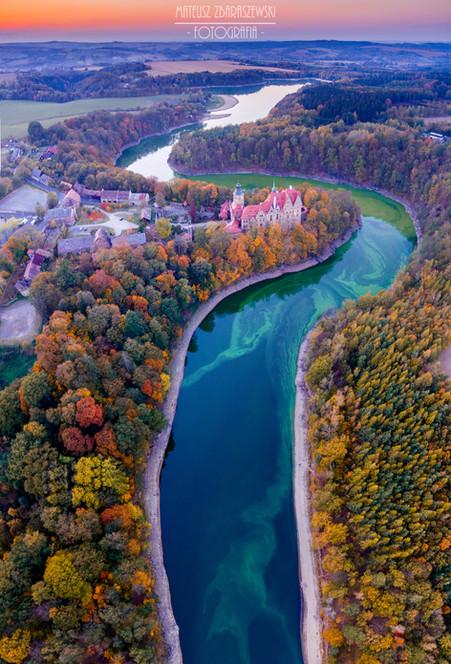 Zamek Czocha - jesień
