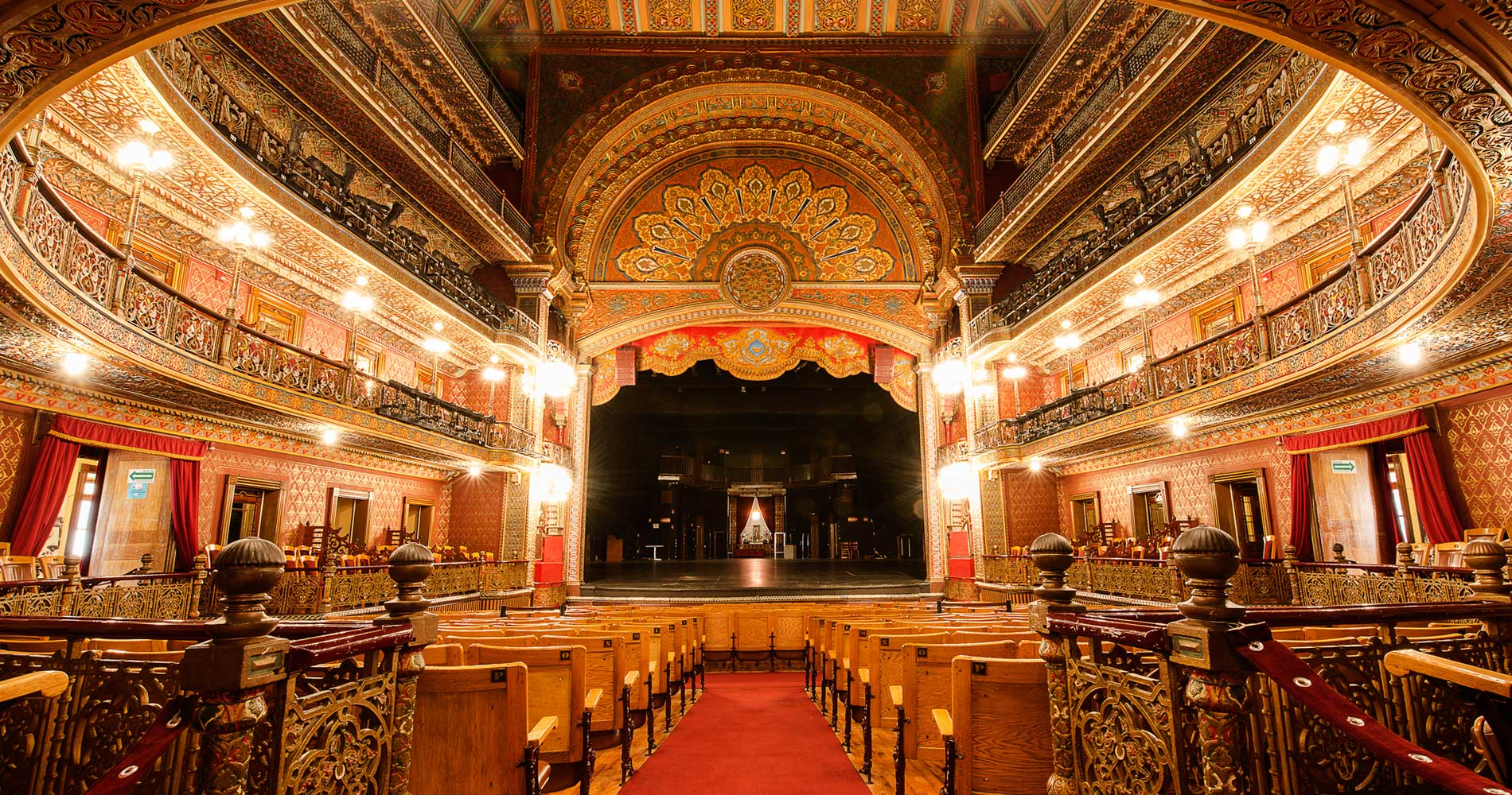 Inside the Juárez Theater
