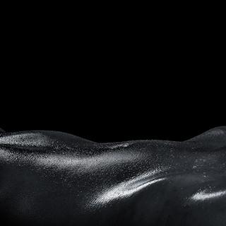 Frau, Aktfoto, schwarz weiß