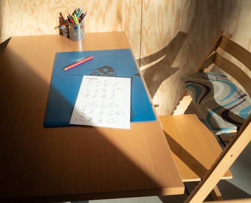 Tischarbeitsplatz