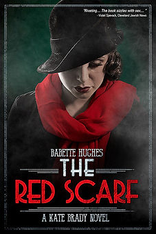 Image of The Red Scarf book cover, by Babete Hughes