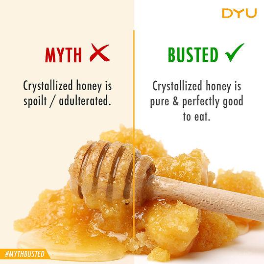 Honey Crystallization, Natural Honey, Pure Honey, DYU Pure Artisanal honey, DYU Pure Raw honey, Western ghats honey, Apis Cerana Honey, Indian Native Honey bee honey