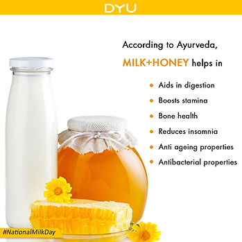 DYU Pure Raw Honey, DYU Pure Artisanal Honey, DYU Pure Natural Honey, Healing powers of DYU honey, DYU Honey with Milk helps in digestion,, DYU honey helps healhy sleep