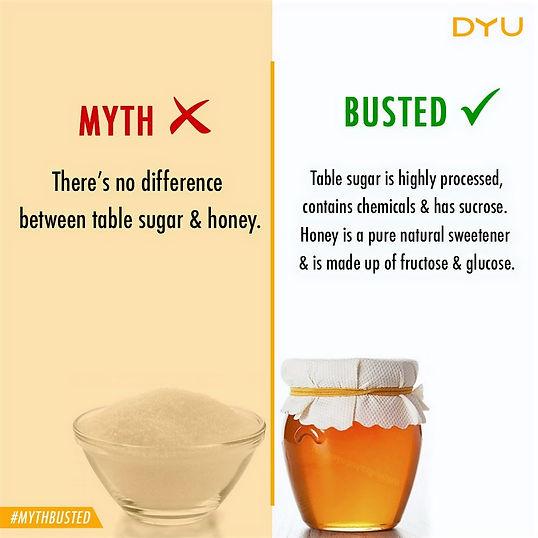 Is honey and Sugar same?, Natural Honey, Pure Honey, DYU Pure Artisanal honey, DYU Pure Raw honey, Western ghats honey, Apis Cerana Honey, Indian Native Honey bee honey