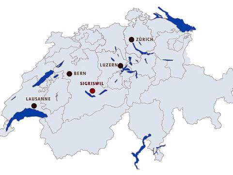 Situationsplan Sigriswil