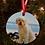 Thumbnail: Custom Watercolor Photo  Ornaments