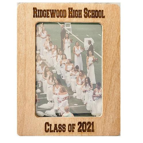 Ridgewood High School Class of 2021 Portrait Frame