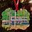 Thumbnail: Custom Watercolor House Ornaments