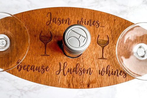 Personalized Engraved Wine Caddy