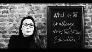 The challenges of traditional education. From founder Svetlana Tikhonov.