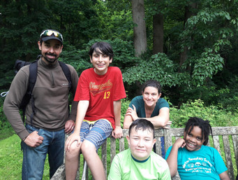 Some of the explorers!