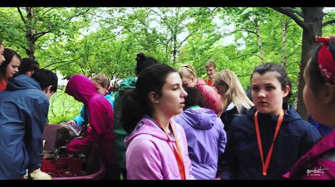 Volunteer trip at Liberty Lands park.