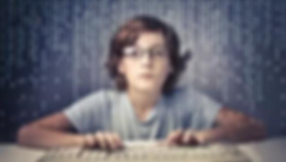 boy coding