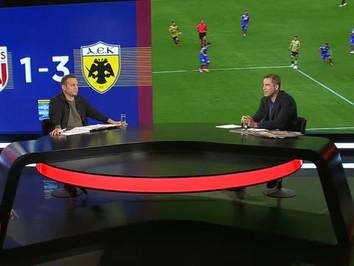 Νικολαΐδης: Ο Μάνταλος έκανε ένα από τα καλύτερα παιχνίδια του με την ΑΕΚ κόντρα στο Βόλο (video)