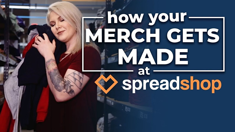 Spreadshop - How Your Merch Gets Made