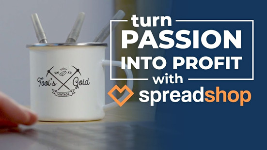 Spreadshop - Turn Your Passion Into Profit
