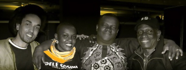 Mrs & Mr Dele Sosimi, Tony Allen
