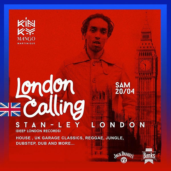 London Calling _ DJ Stan-ley @ Kinky Man