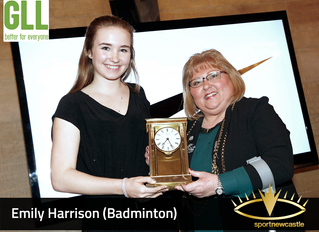 Emily Harrison - 2017 Rising Star