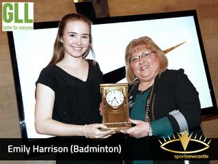 Emily Harrison - 2017 Rising Star