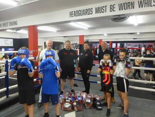 New Kit for Kenton Amateur Boxing Club