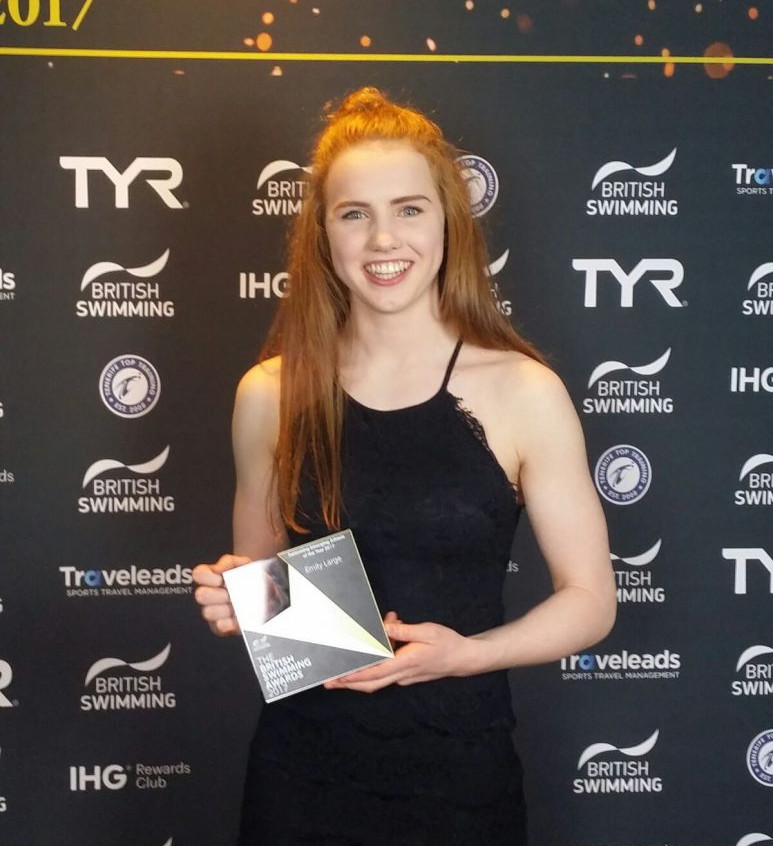Emily Emerging Swimmer of the Year 2017