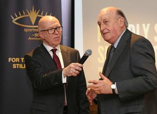 Sir John 'kicks off' anniversary fund raiser!