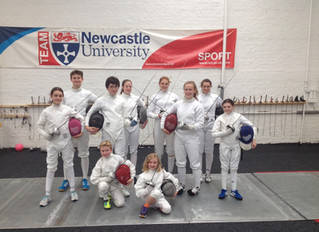 Newcastle Fencing Club benefit from grants giveaway.