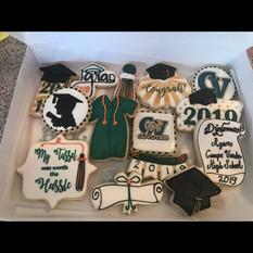 Campo Verde Graduation Cookies