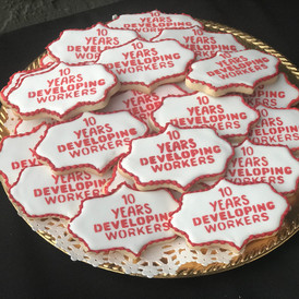 Anniversay Logo Cookies